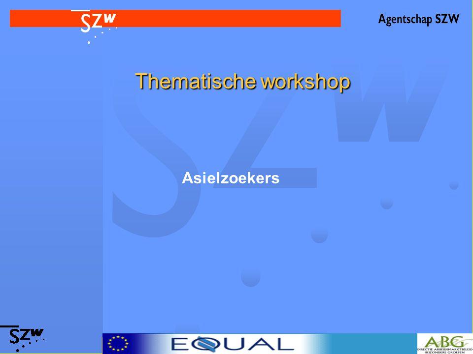 Thematische workshop Asielzoekers