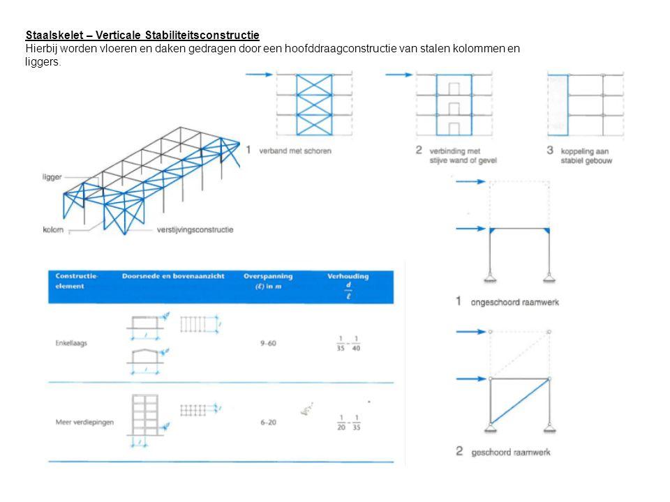 Staalskelet – Verticale Stabiliteitsconstructie