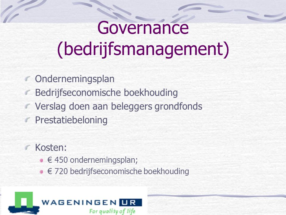 Governance (bedrijfsmanagement)