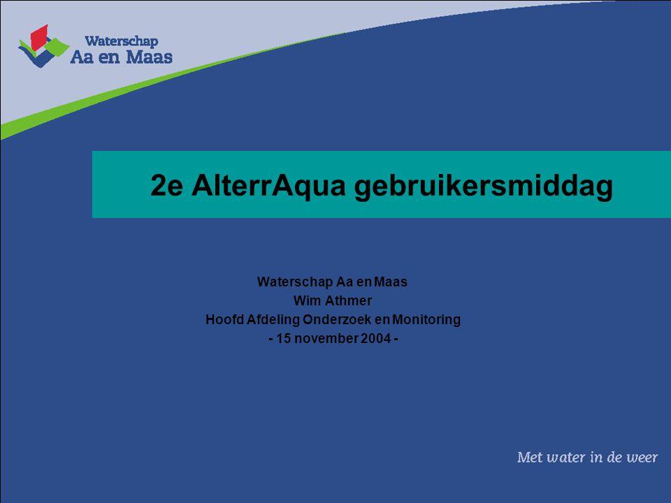 2e AlterrAqua gebruikersmiddag