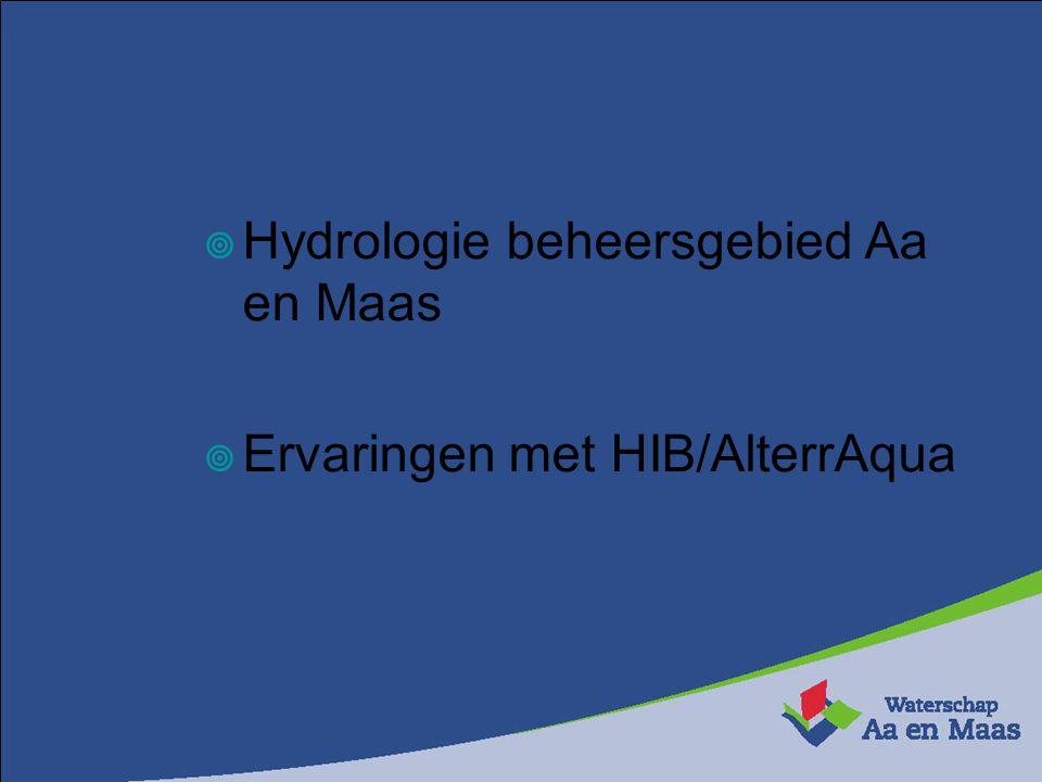 Hydrologie beheersgebied Aa en Maas