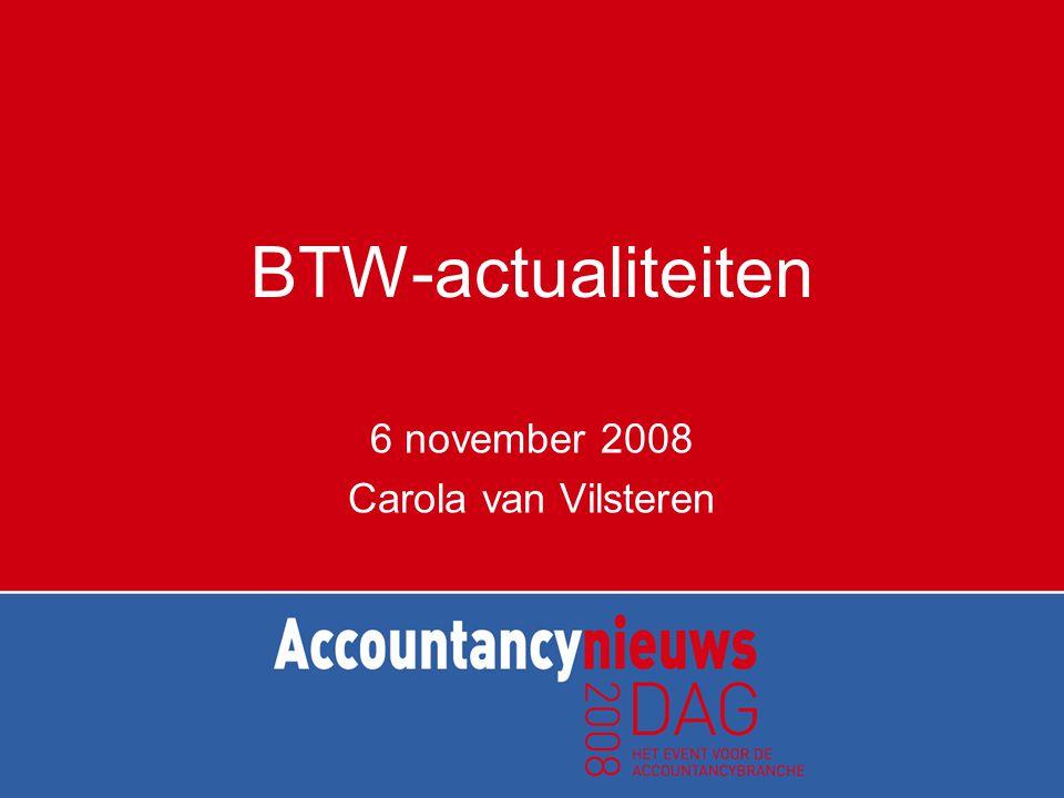 6 november 2008 Carola van Vilsteren