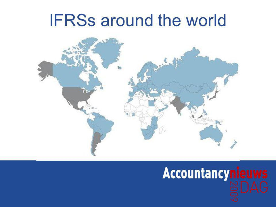 IFRSs around the world