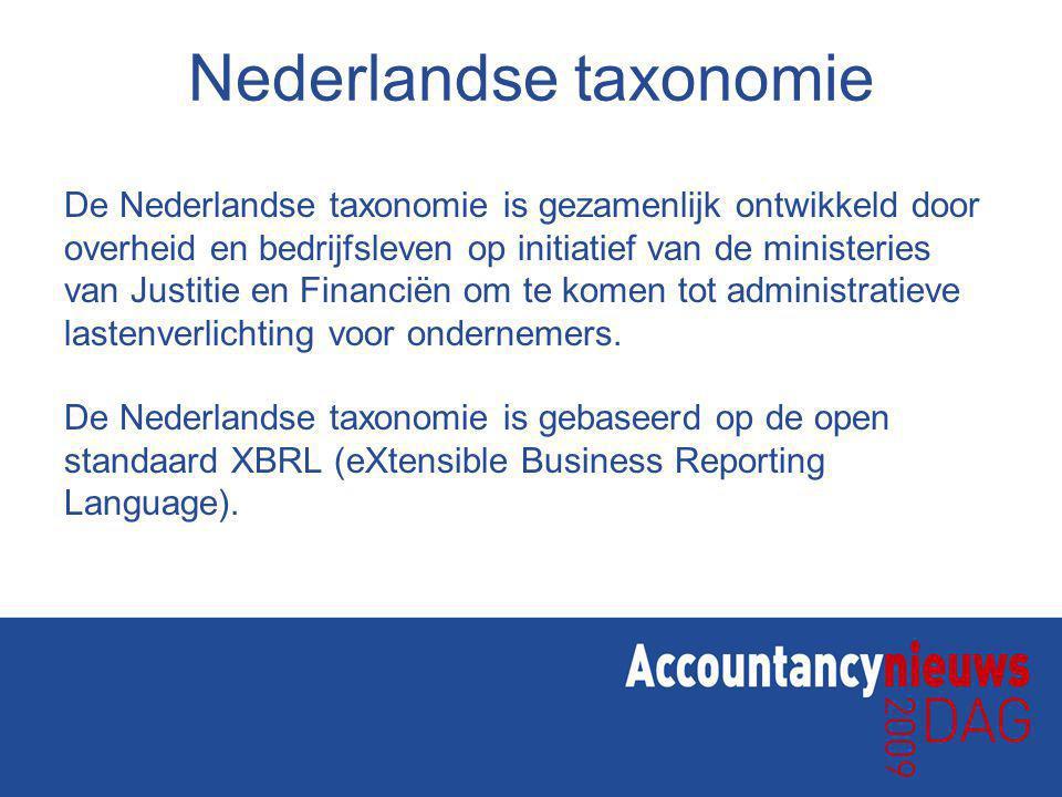 Nederlandse taxonomie