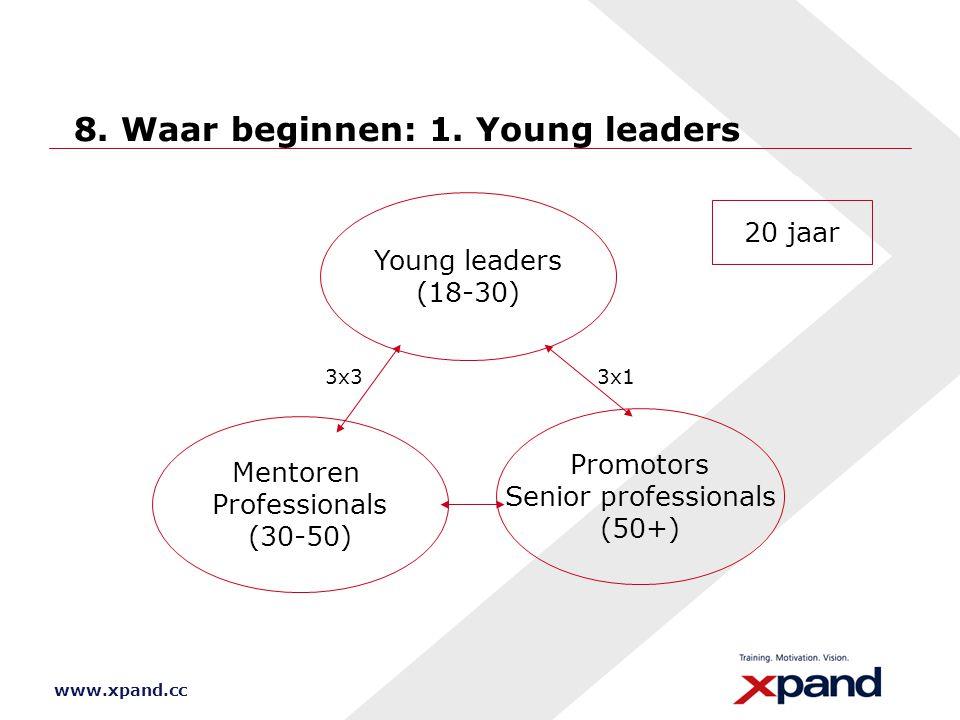 8. Waar beginnen: 1. Young leaders