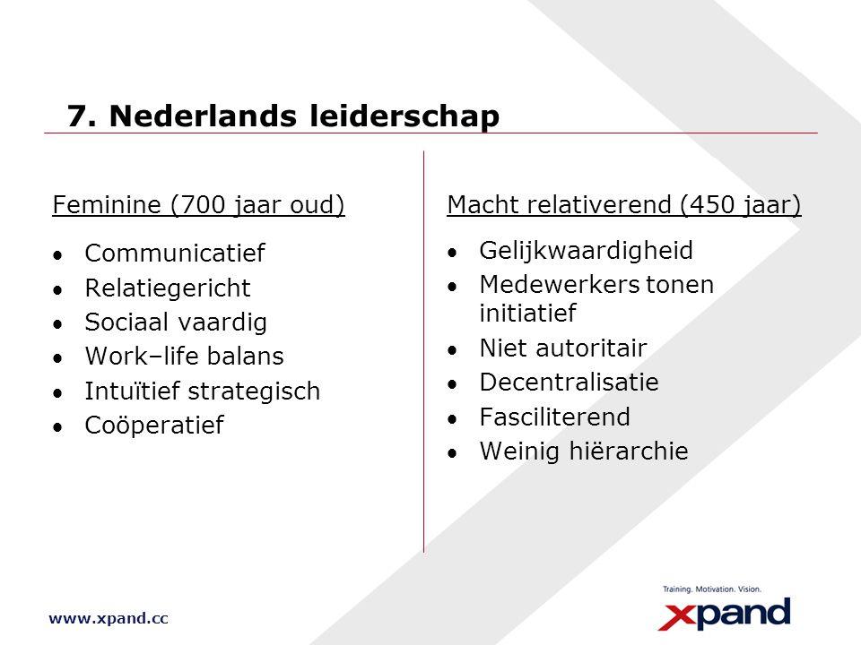 7. Nederlands leiderschap