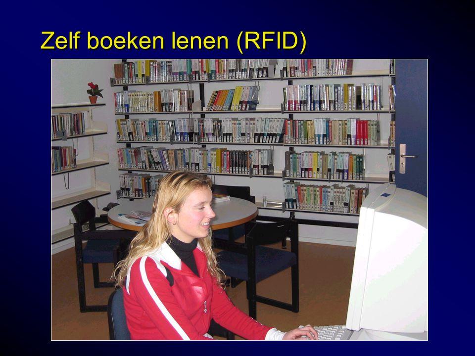 Zelf boeken lenen (RFID)