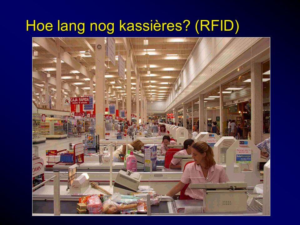 Hoe lang nog kassières (RFID)