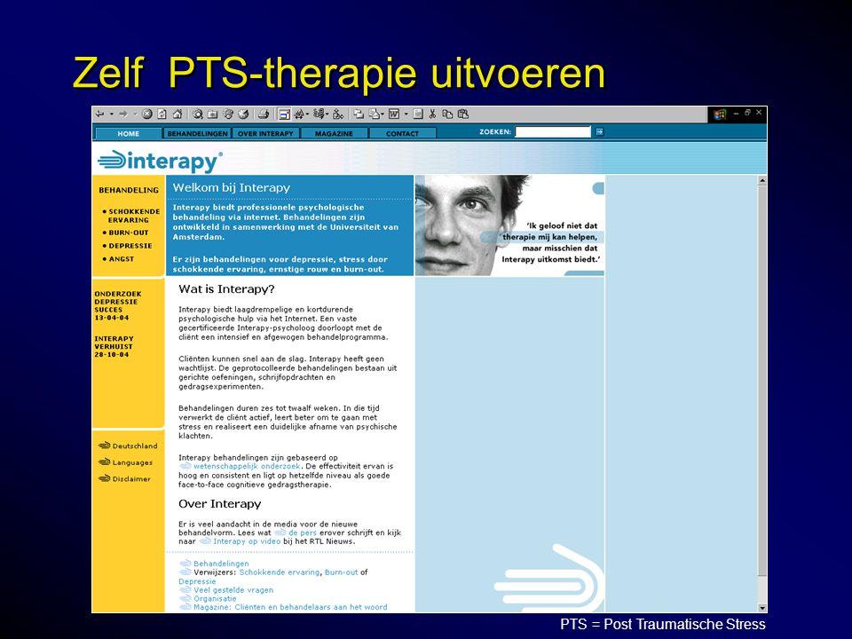 Zelf PTS-therapie uitvoeren