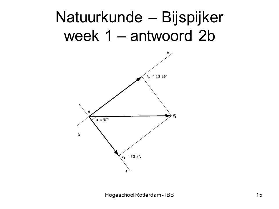 Natuurkunde – Bijspijker week 1 – antwoord 2b