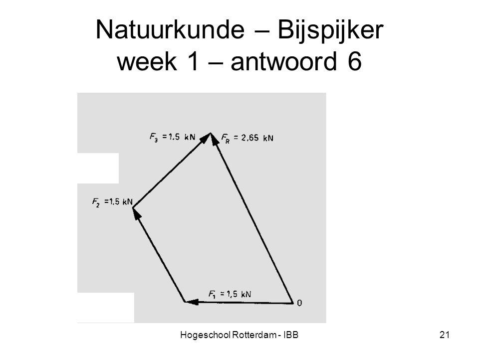 Natuurkunde – Bijspijker week 1 – antwoord 6