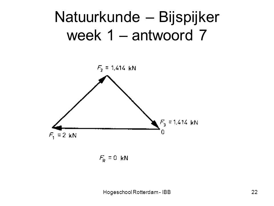 Natuurkunde – Bijspijker week 1 – antwoord 7