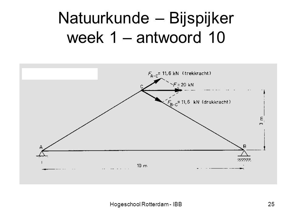 Natuurkunde – Bijspijker week 1 – antwoord 10