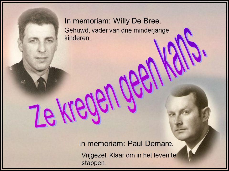 Ze kregen geen kans. In memoriam: Willy De Bree.