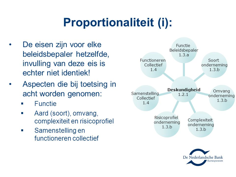 Proportionaliteit (i):