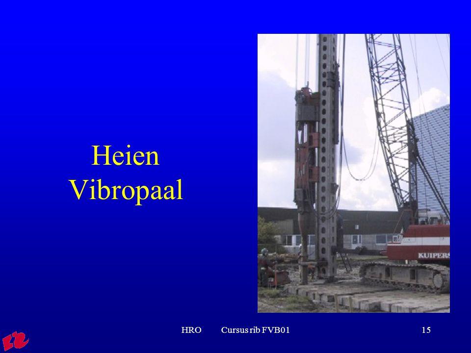 Heien Vibropaal HRO Cursus rib FVB01