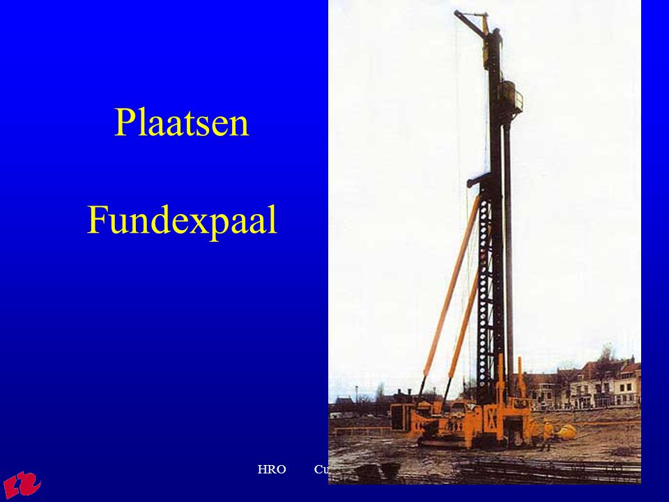 Plaatsen Fundexpaal HRO Cursus rib FVB01
