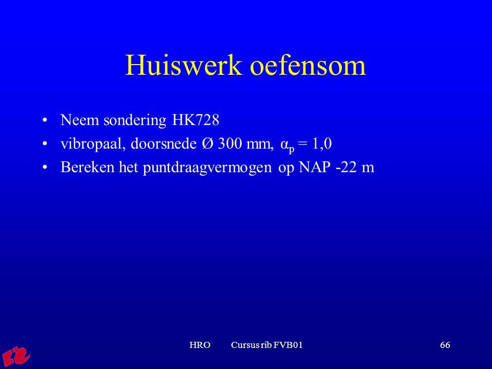 Huiswerk oefensom Neem sondering HK728