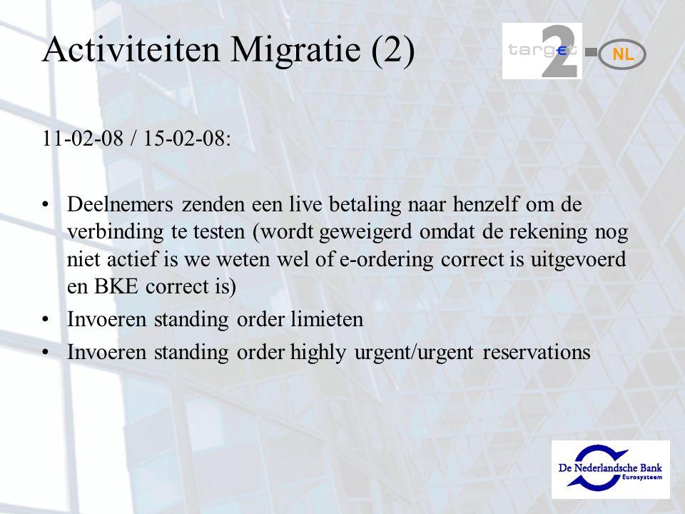 Activiteiten Migratie (2)