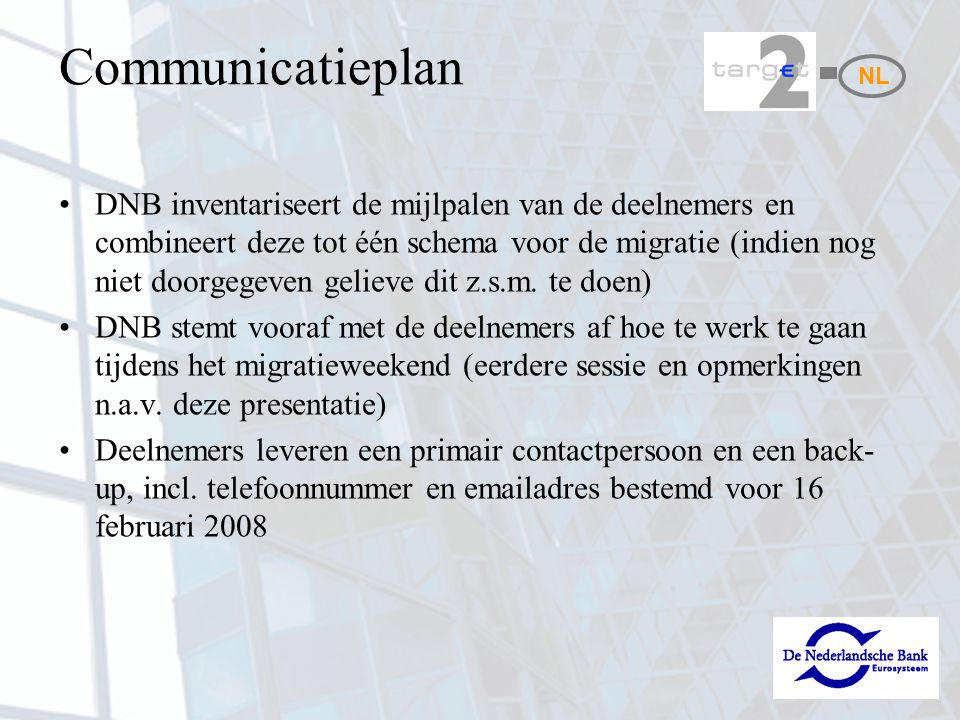 Communicatieplan NL.