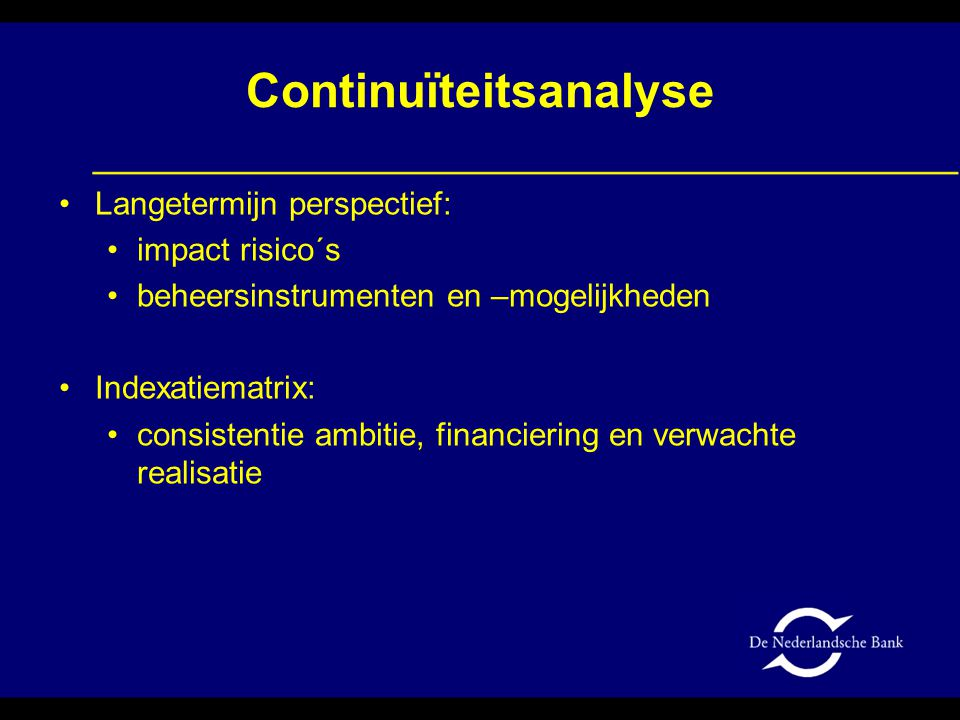 Continuïteitsanalyse