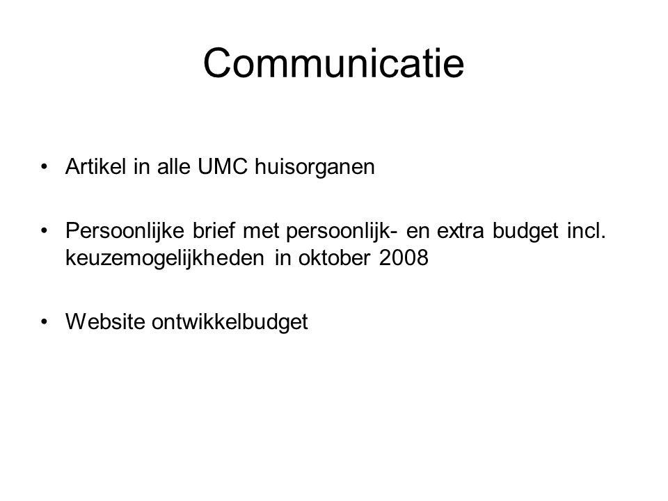 Communicatie Artikel in alle UMC huisorganen