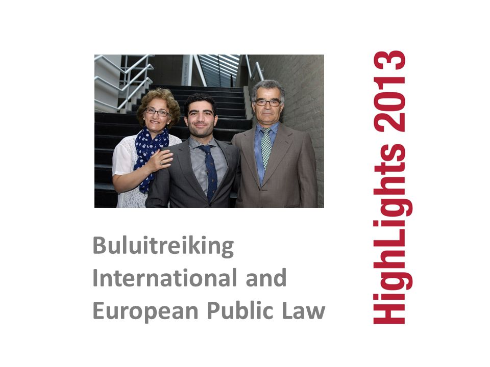 Buluitreiking International and European Public Law