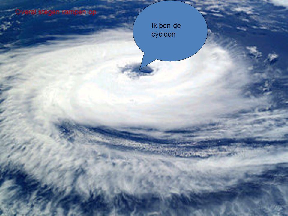 Overal stegen rampen op
