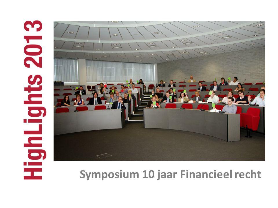 Symposium 10 jaar Financieel recht