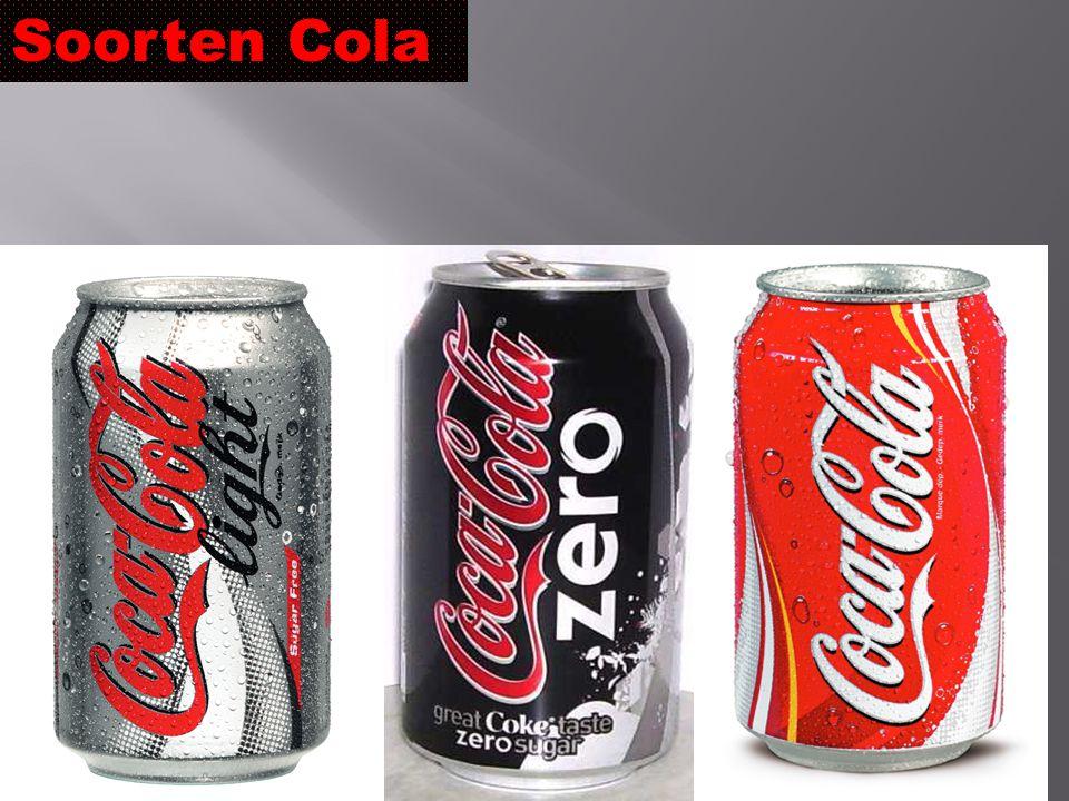 Soorten Cola