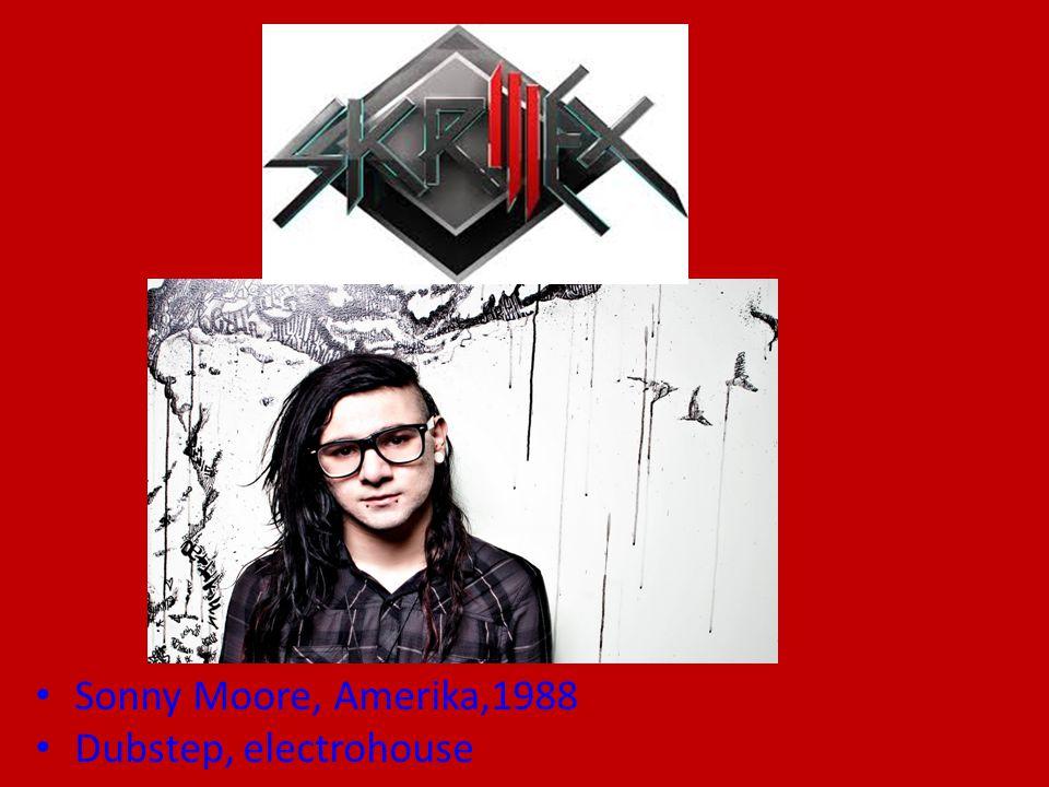 Sonny Moore, Amerika,1988 Dubstep, electrohouse