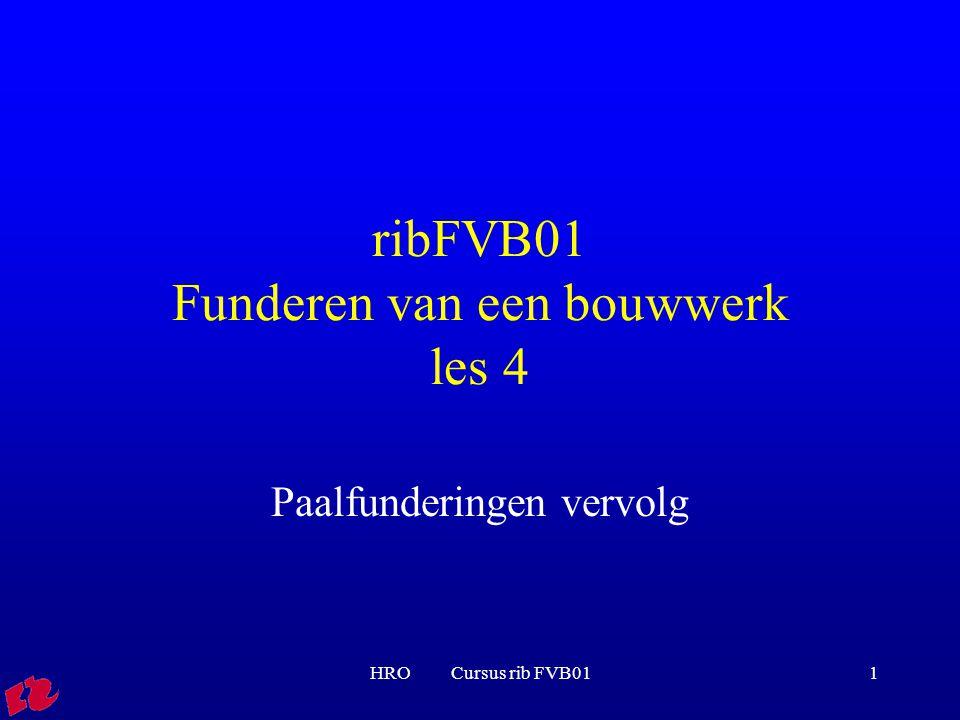 ribFVB01 Funderen van een bouwwerk les 4