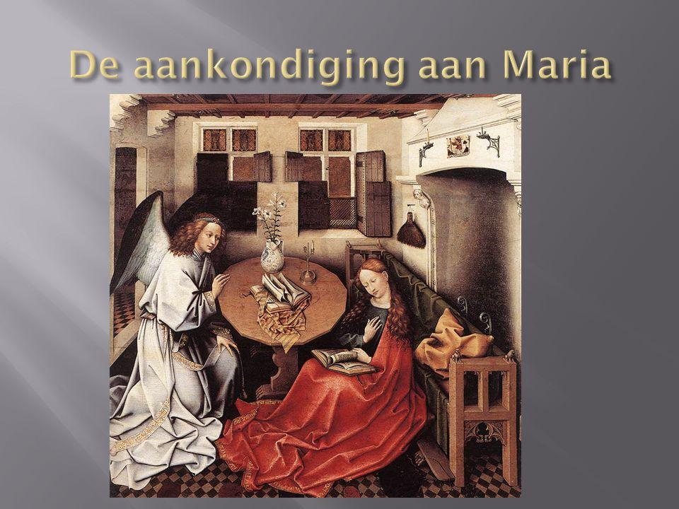 De aankondiging aan Maria