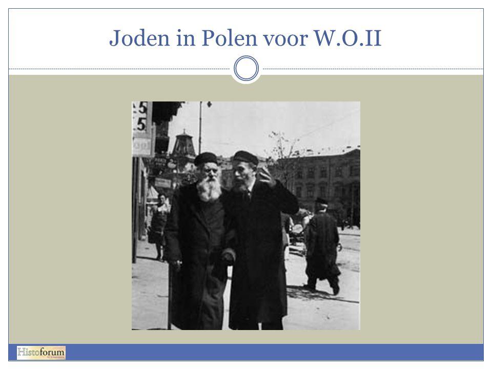 Joden in Polen voor W.O.II