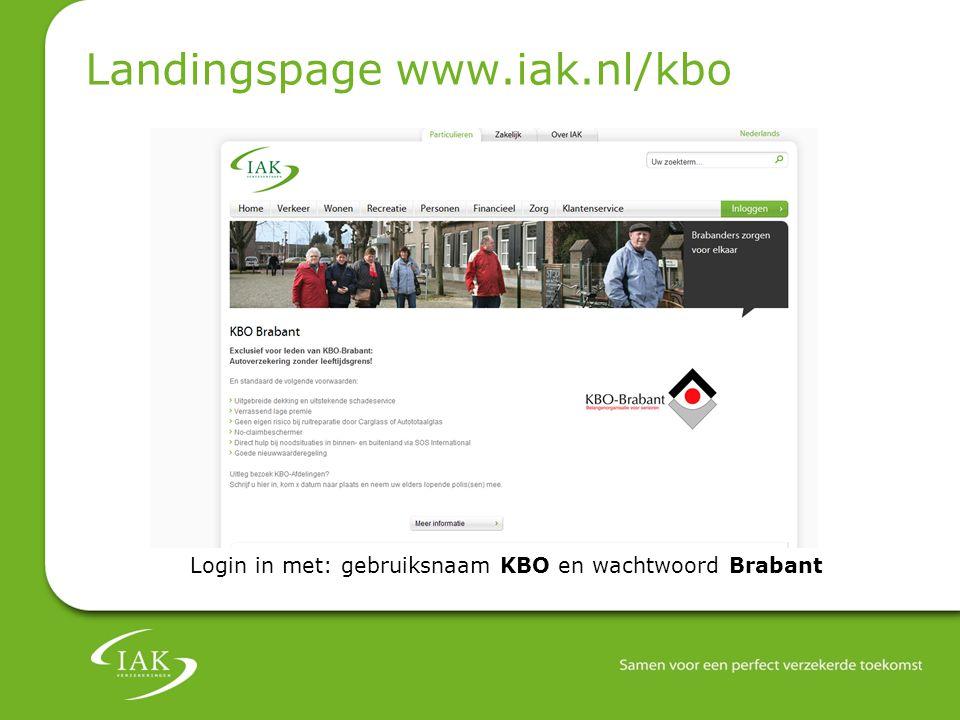 Landingspage www.iak.nl/kbo