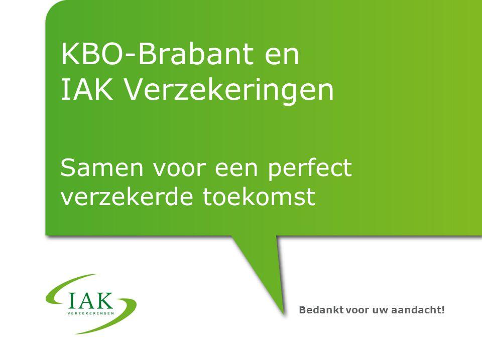KBO-Brabant en IAK Verzekeringen Samen voor een perfect verzekerde toekomst