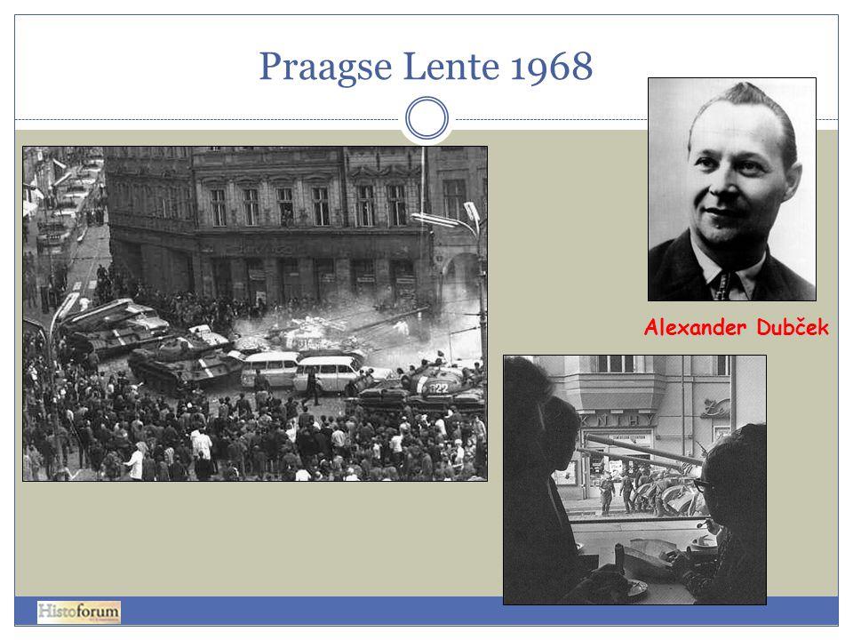 Praagse Lente 1968 Alexander Dubček