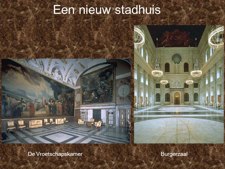 Een nieuw stadhuis De Vroetschapskamer Burgerzaal
