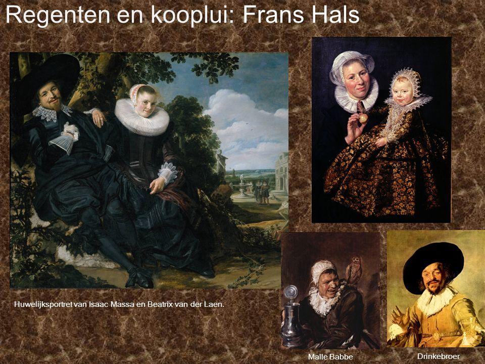 Regenten en kooplui: Frans Hals