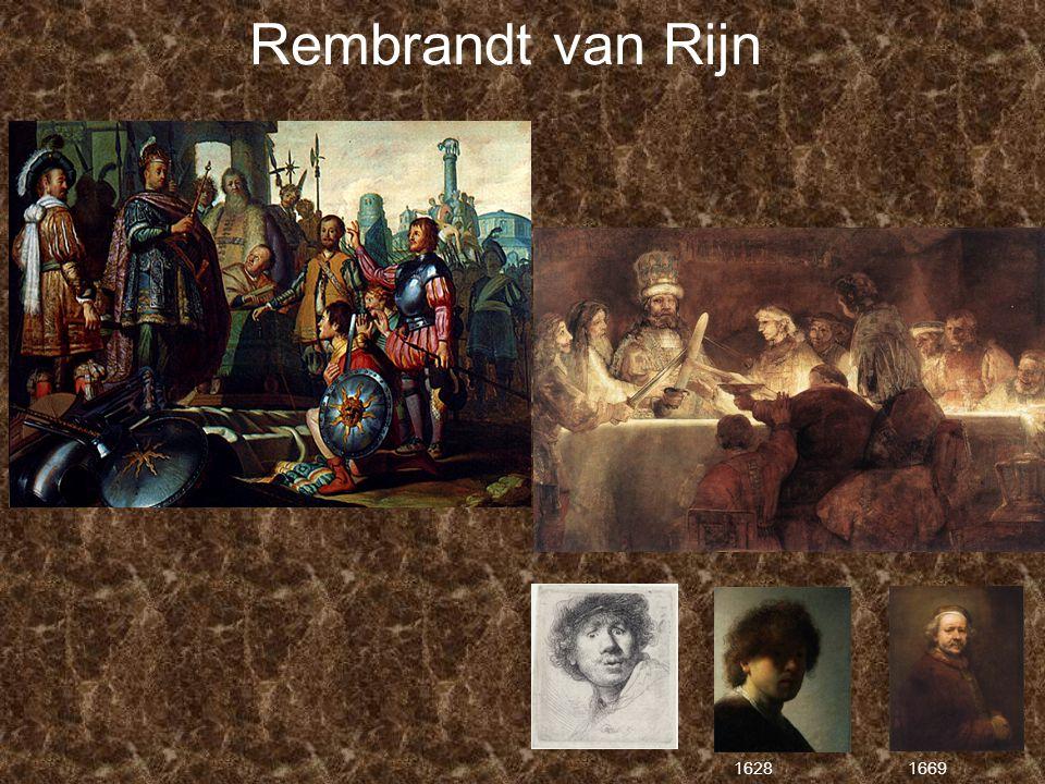 Rembrandt van Rijn 1628 1669