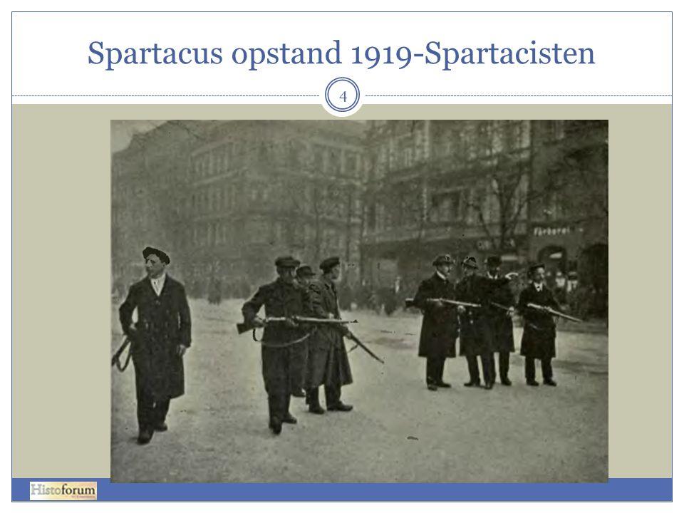 Spartacus opstand 1919-Spartacisten