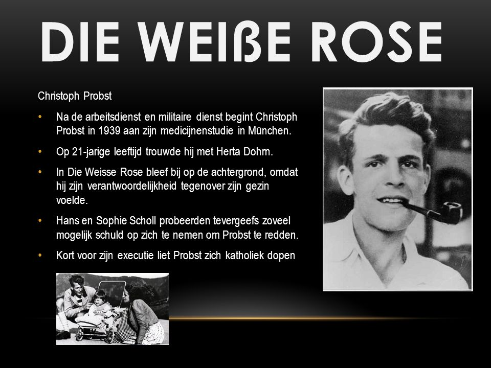 DIE WEIßE ROSE Christoph Probst