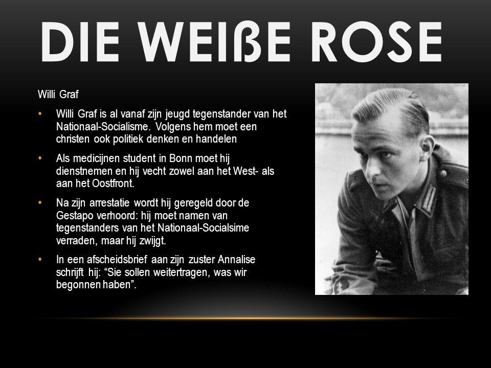 DIE WEIßE ROSE Willi Graf