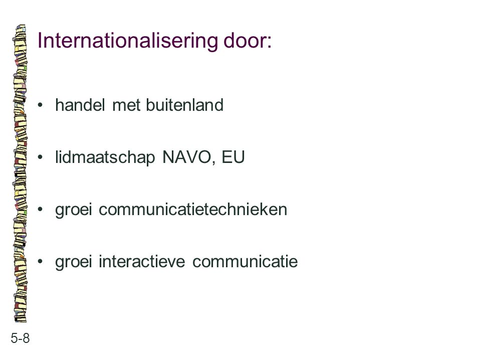 Internationalisering door: