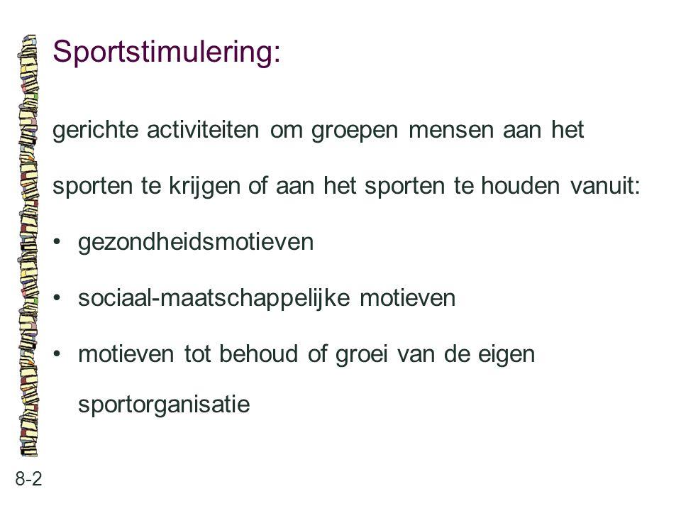 Sportstimulering: gerichte activiteiten om groepen mensen aan het