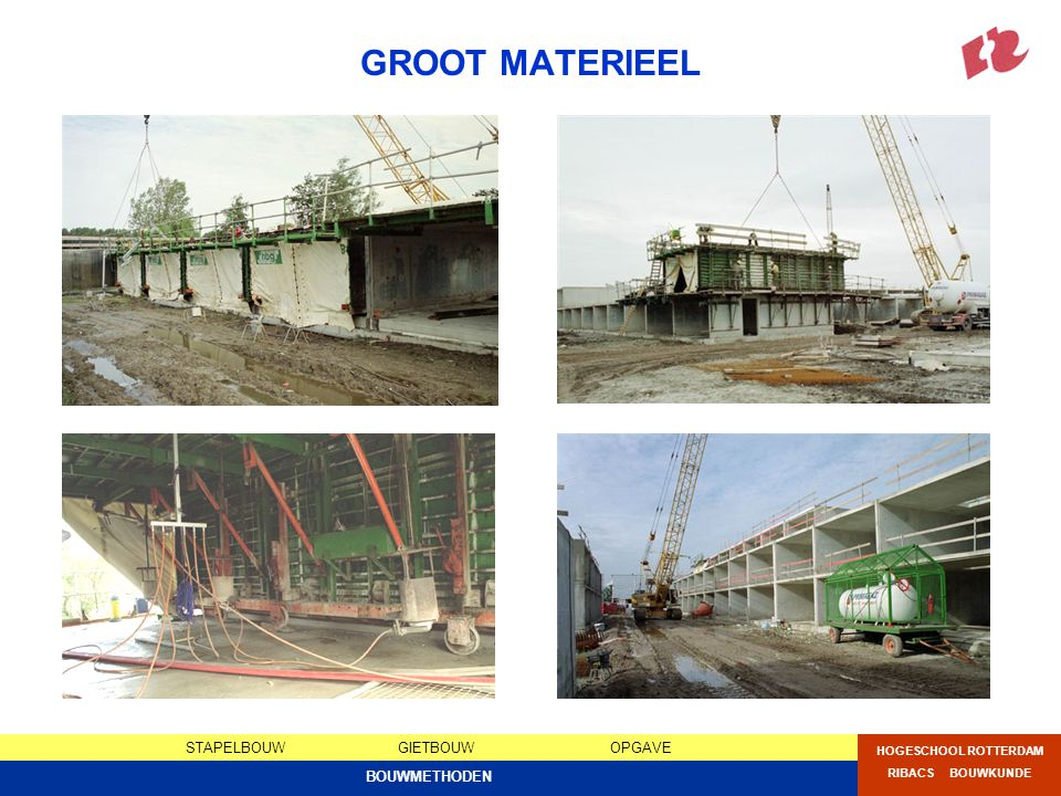 GROOT MATERIEEL