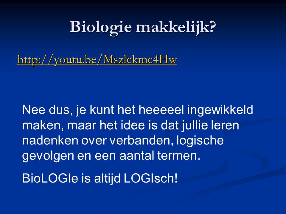 Biologie makkelijk http://youtu.be/Mszlckmc4Hw