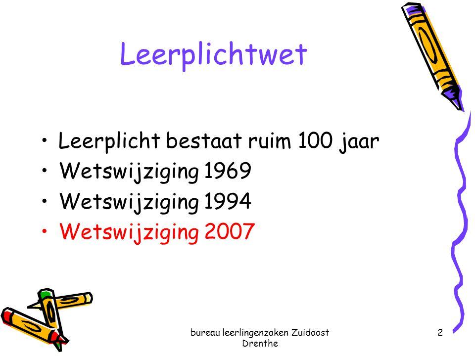 bureau leerlingenzaken Zuidoost Drenthe