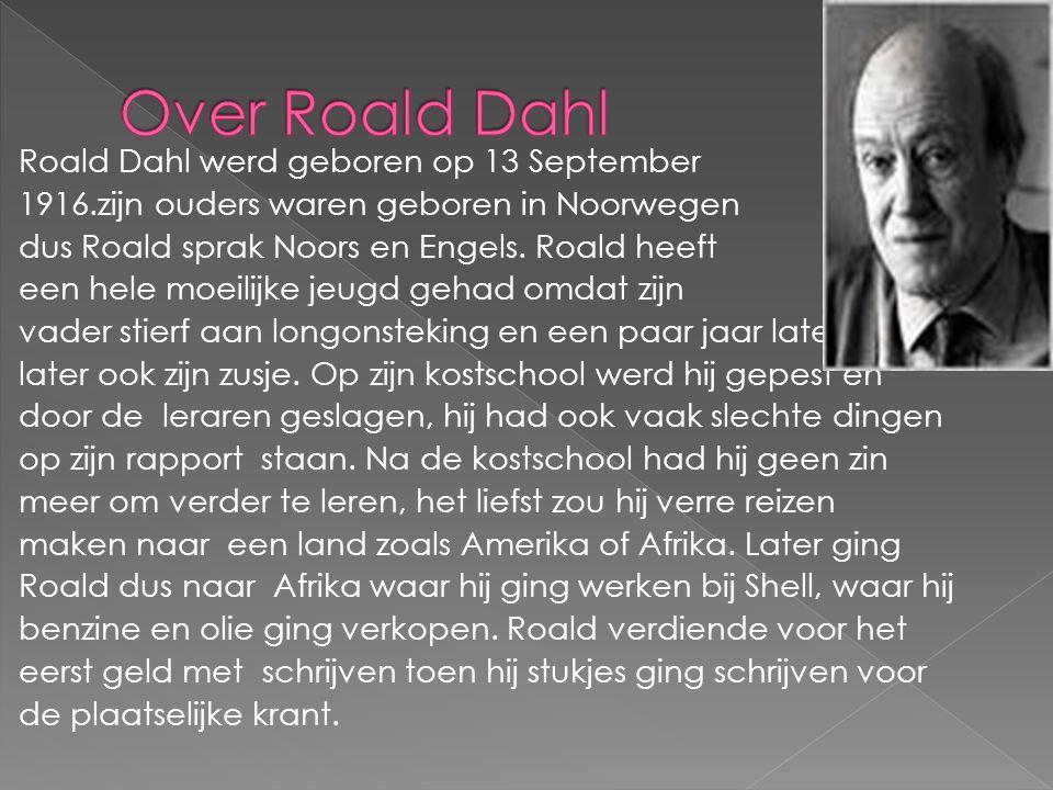 Over Roald Dahl