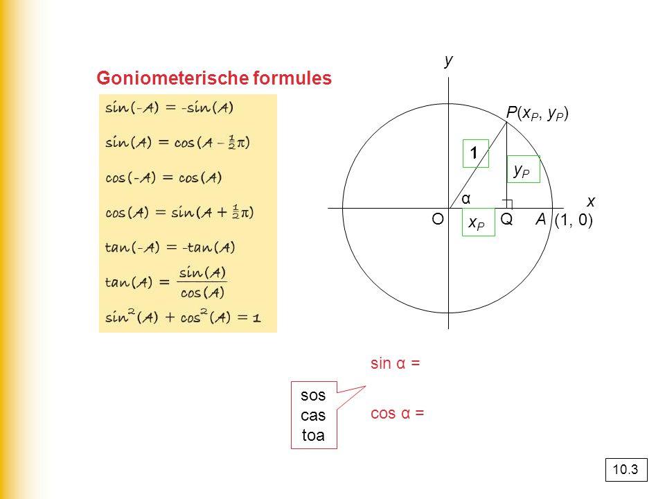 Goniometerische formules